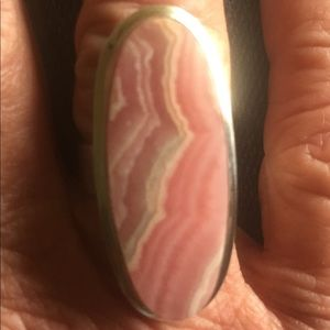 Jewelry - Sterling and Rhodochrosite Ring